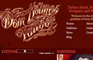 16 dom holmes tattoo