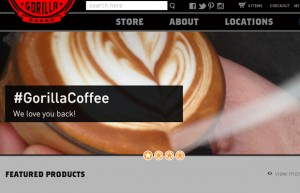 19 gorilla coffee shop